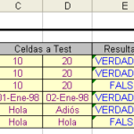 Funcion NO de excel
