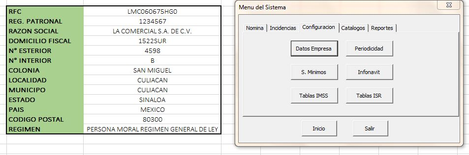 Tutorial Excel Nomina 2012
