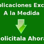 Aplicaciones a la medida en Excel