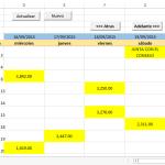 Agenda en Excel – Eventos, Pagos, Cobranza