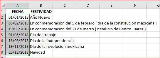 Dia Habil De Inicio Y Fin De Mes Con Formulas Excel Formulas Excel